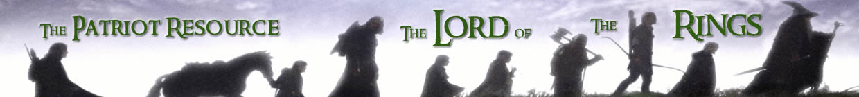The Patriot Resource - The Lord of the Rings